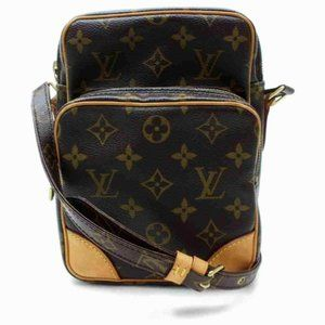 Auth Louis Vuitton Monogram Amazon Crossbody Bag